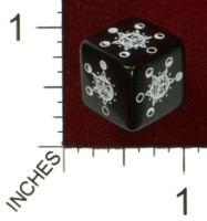 Dice : MINT43 TINDERBOX ENTERTAINMENT DICE EMPIRE SERIES 1 LUNA CYCLE