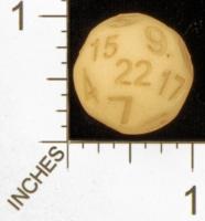 Dice : MINT28 SHAPEWAYS MCTRIVIA TRUNCATED D22 01