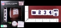 Dice : MINT52 MASTERWORKS SHAKE N SCORE NFL NEW YORK GIANTS