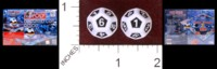 Dice : D12 OPAQUE ROUNDED SOLID PARKER BROTHERS 2006 FIFA WORLD CUP EDITION MONOPOLY