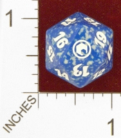 Dice : D20 OPAQUE ROUNDED SPECKLED MTG LIFE COUNTERS SCARS OF MIRRODIN 03