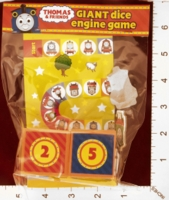 Dice : MINT27 GULLANE LIMITED THOMAS AND FRIENDS GIANT DICE ENGINE GAME 01
