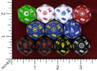 Dice : MINT45 MODIPHIUS ENTERTAINMENT MUTANT CHRONICLES 3RD ED RPG FACTION DICE