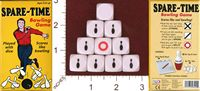 Dice : MINT31 BINARY ARTS SPARE TIME BOWLING GAME 01