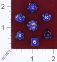 Dice : MINT23 CRYSTAL CASTE METAL BLUE