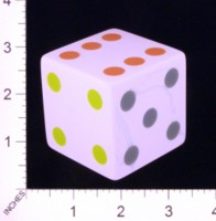 Dice : MINT21 CRISLOID PINK MARBLE