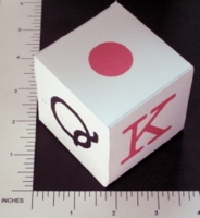 Dice : PAPER D06 MY DESIGN POKER 03 SPANISH